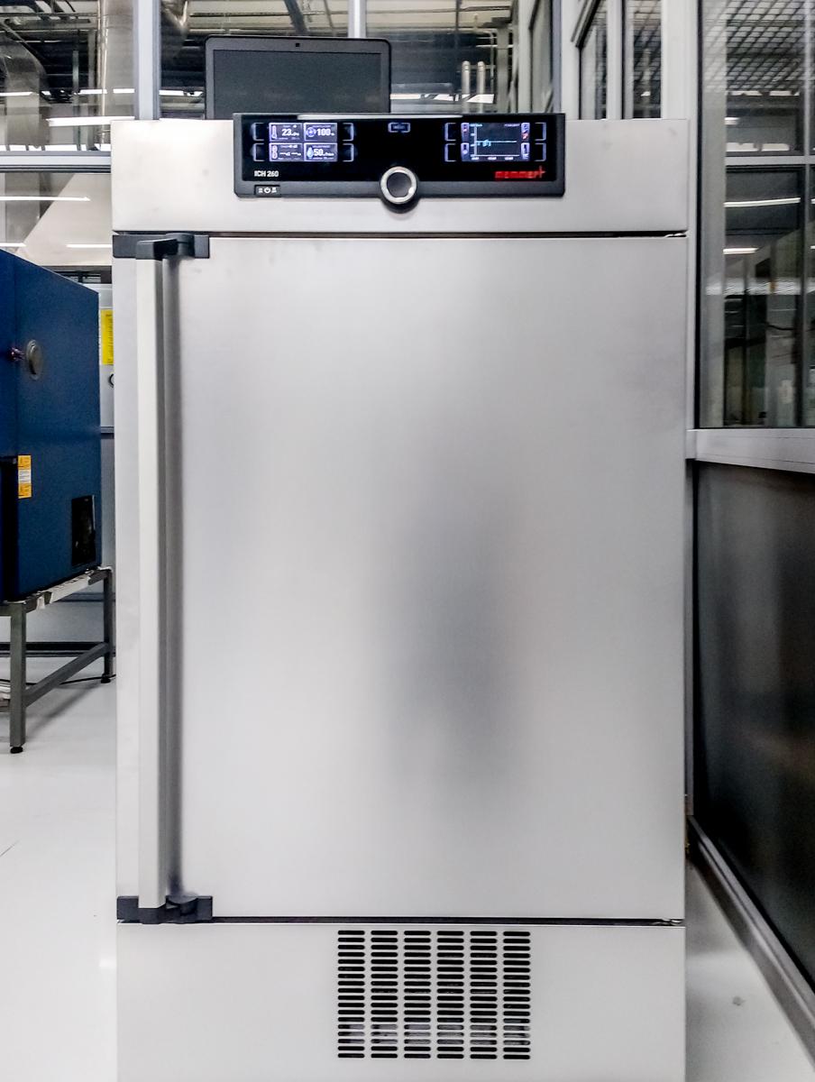 Resistance Tester Through Materials : Environmental resistance testing of synthetic materials